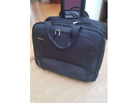 Delsey cabin/laptop trolley case