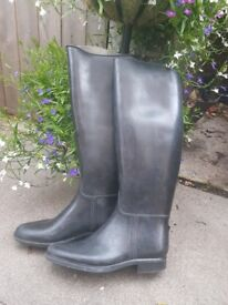Horse riding rubber boots s6