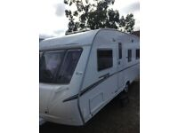abbey gts 418 2007 4 berth fixed bed with full awing