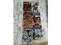 DEADPOOL BUNDLE. 5 DP GRAPHIC NOVELS + DP MONEY BOX AND 1 WALKING DEAD GRAPHIC NOVEL. VOLUME 1.