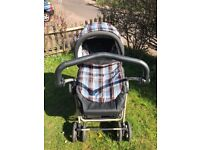 Mamas And Papas MPX Travel System Buggy Stroller Pushchair Pram