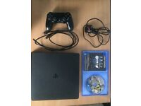PS4 Slim & Fifa 17 for sale