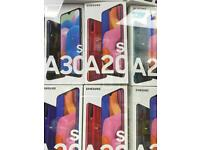 SAMSUNG A20/ A20e/A20S UNLOCKED BRAND NEW BOXED AND SAMSUNG WARRANTY