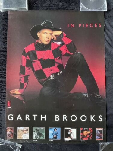 PROMO Poster Garth Brooks - In Pieces 18x24