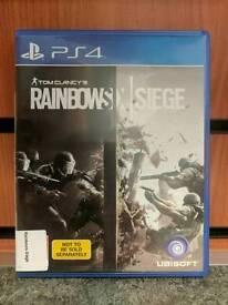 "PS4 GAME ""TOM CLANCY'S RAINBOW SIX:SIEGE"""