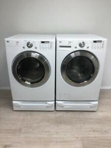 Used LG Front-Load Washer and Dryer Pedestals $900. 1 Year Warranty. Professionally Reconditioned.