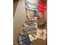 Bundle girls clothes 9-12 years