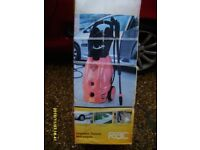 RAC Heavy Duty Pressure Washer kit. 1850 motor Includes all specified accessories. Model HP221