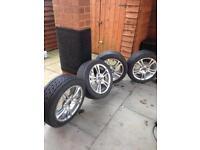 ACE alloy wheels