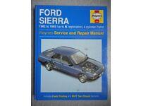HAYNES FORD SIERRA 1982-93 SERVICE AND REPAIR MANUAL