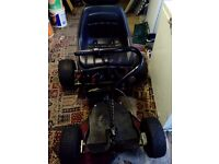 Golf buggy and trailer, good condition