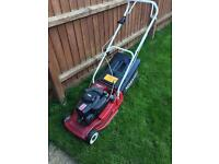 Mountfield Lawnmower self propelled with roller.