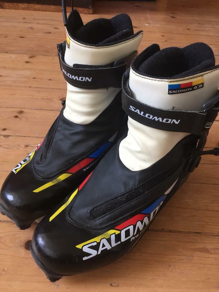 7496ece8259 Salomon Pro Combi Pilot cross country ski boots (U.K. 5 / EU 38) | in ...
