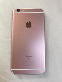 iPhone 6s PLUS rose gold boxed good condition
