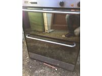 Integrated oven and grill with gas hob £65 free delivery .