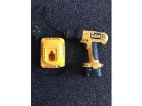 Dewalt drill and charger