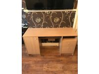 Beech Computer Desk great condition £30ono