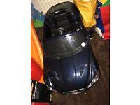 Jaguar electric kids car