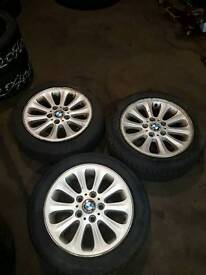 Bmw 1 series 16inch alloys and tyres