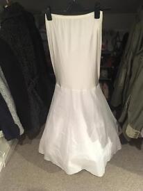 Petticoat fishtail style for wedding/prom dress