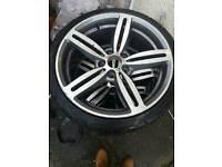 Bmw m6 rep alloy wheels 19 inch 8j