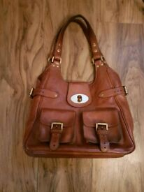 Genuine mulberry leather bag
