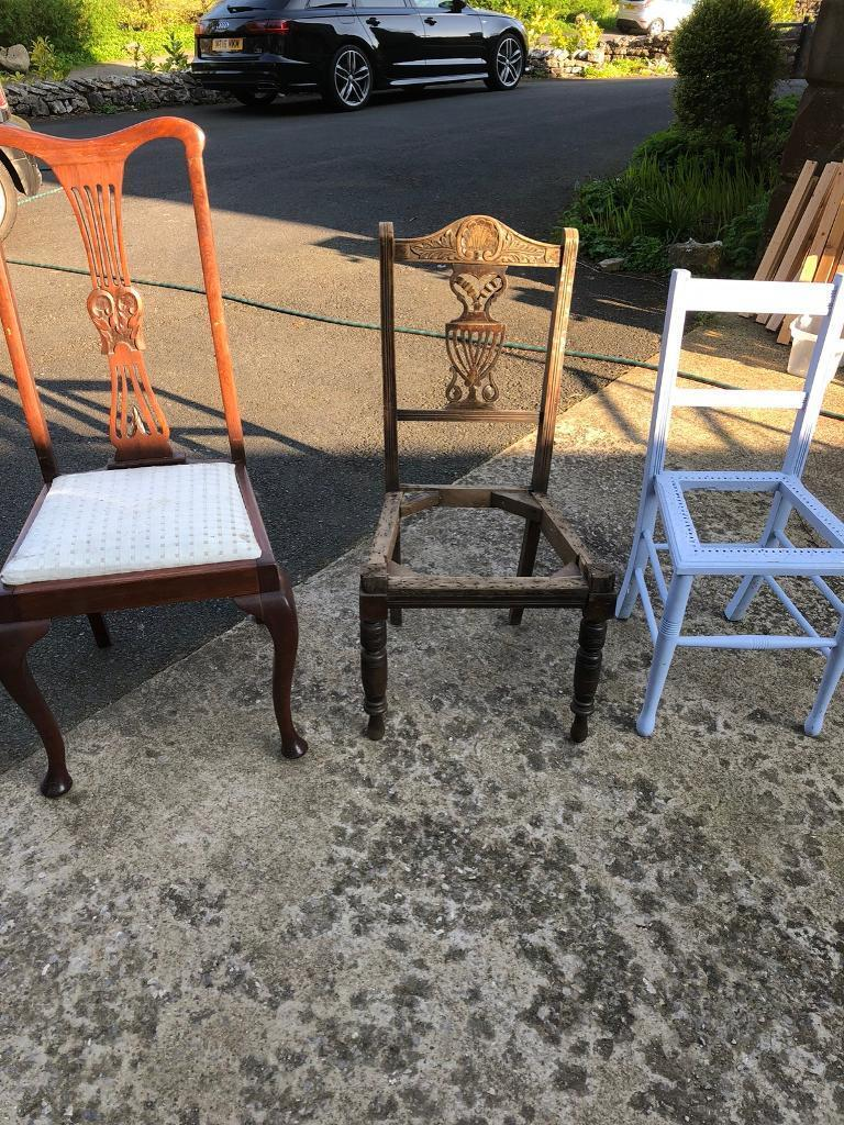 Free 3 antique chairs penrith