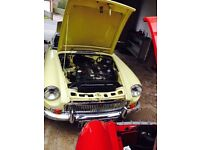 Rare fully restored MGC automatic