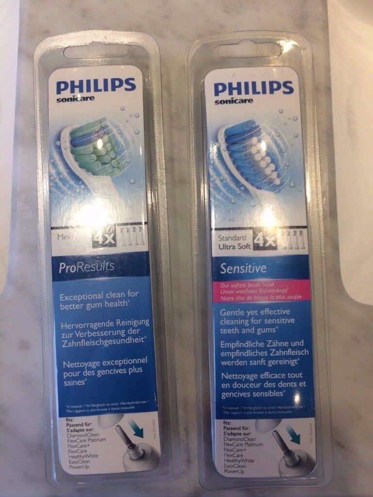 Philips Sonicare Toothbrush Heads x 8 / Brand new, sealed and unopened