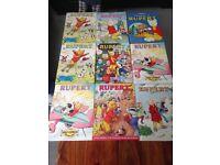 1980s Rupert Bear collection