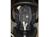Cyber car seat and isofix