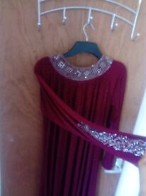 Long dress, abaya
