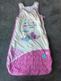 TU sleeping bag she 12-18 months
