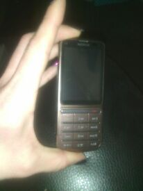 Bronze Nokia (C3-01.5) Mobile Phone