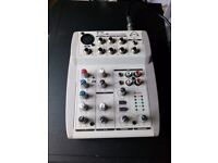 Wharfedale mini mixer with case
