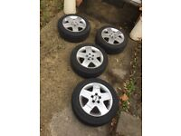4 Ford Focus Wheels *Great condition*