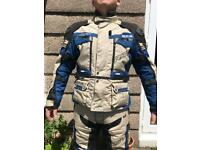 RST PRO adventure motorcycle jacket and trousers