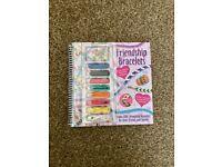 Childrens m&s friendship bracelet book - gifts-NEW