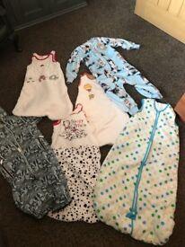 Grow bags, Sleepsuit, Snow suit - bundle, baby clothing, boy or girl, NEXT