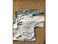 Baby tops 0-3 months