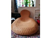 Designer Rattan/Wicker Lounge Chair