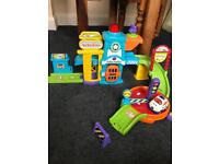 Kids toy toot toot drivers police station