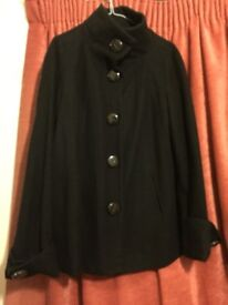 Zara Basic Black coat