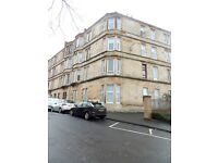 One bedroom furnished flat to let in Pollockshields