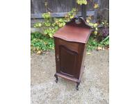 Beautiful French antique ornate cabinet / bedside
