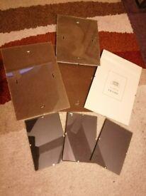 7 clip frames - various sizes