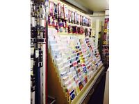 Card display stands , and all varieties cards.