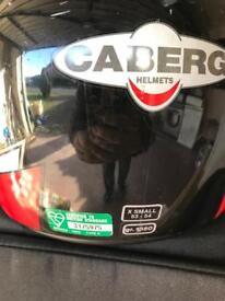 Motor cycle helmet xsmall