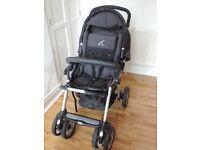 Jané Nomad Pro pushchair and Matrix Pro car seat/carry cot - DARLINGTON