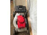 Honda petrol motor mower